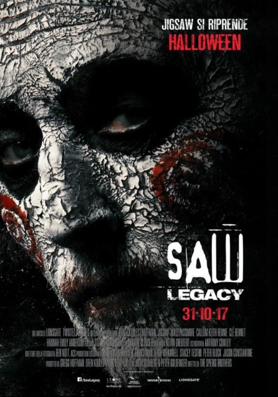 Locandina di Saw: Legacy