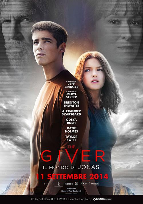 Locandina di The Giver - Il mondo di Jonas