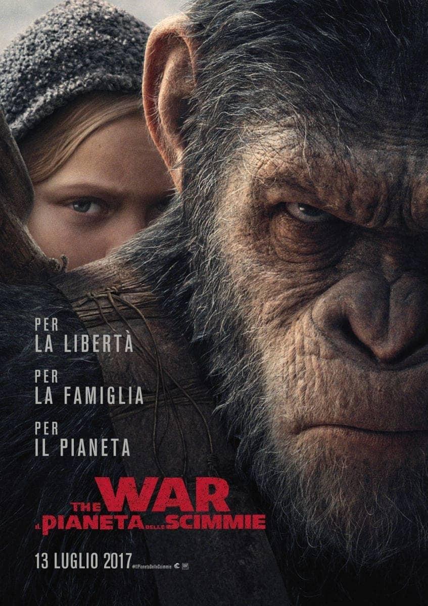 Locandina The War - Il pianeta delle scimmie