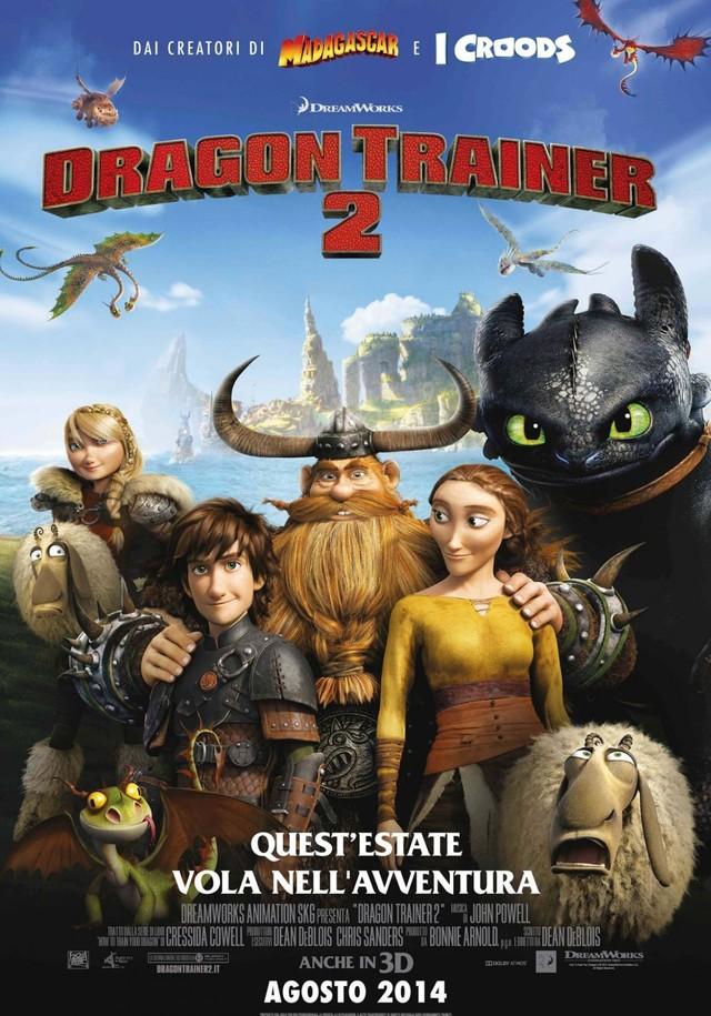 Dragon Trainer 2 locandina