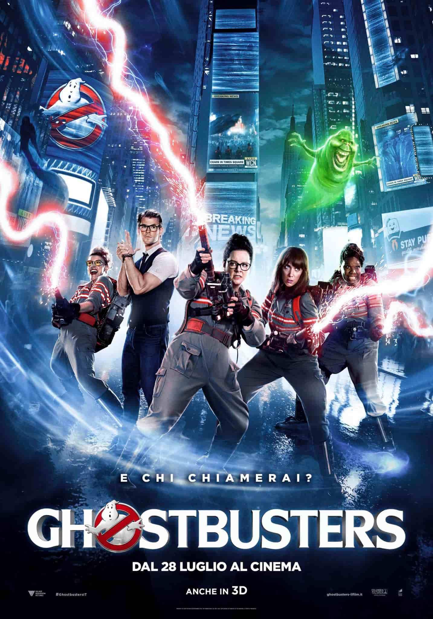 Locandina Ghostbusters