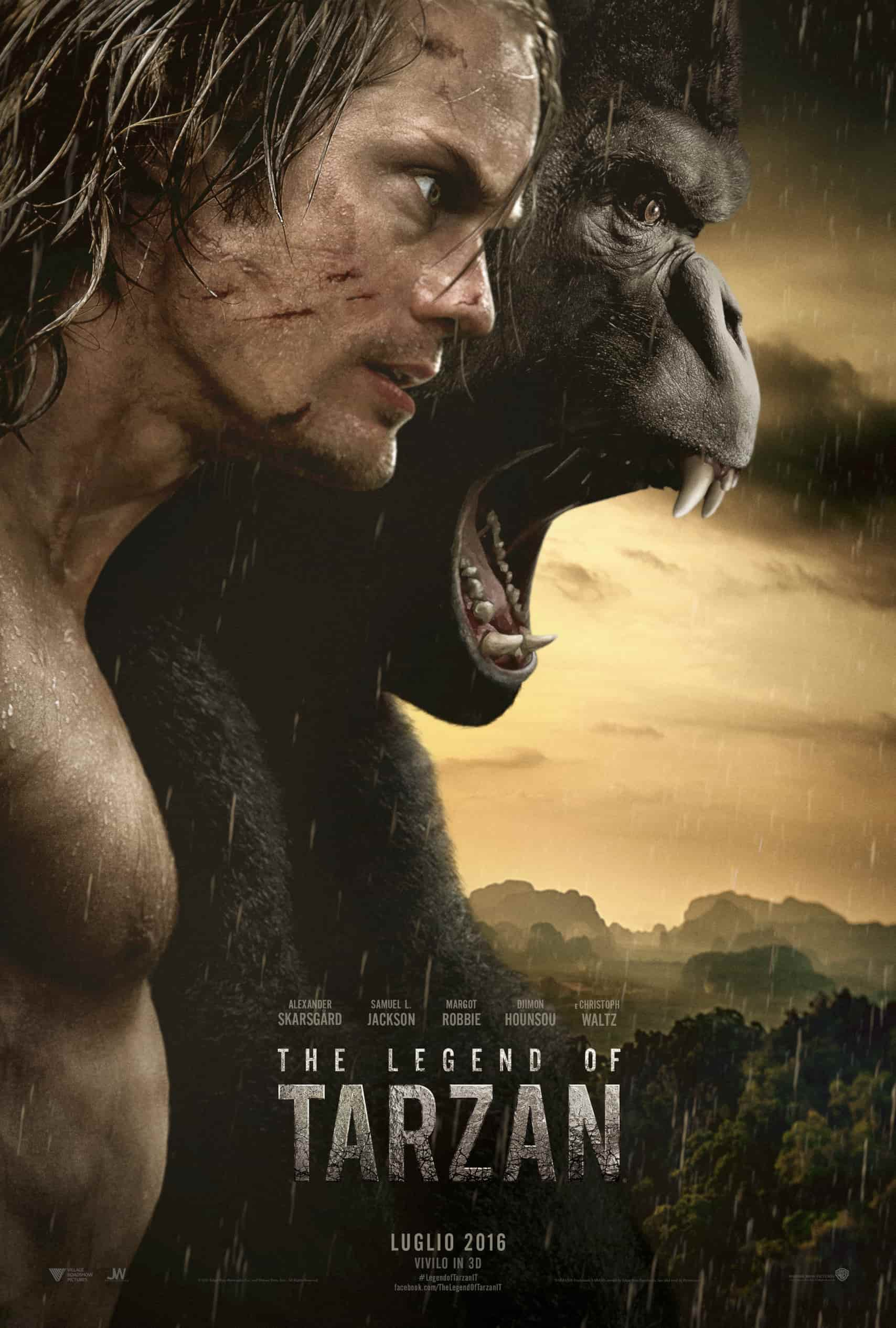 Locandina The Legend of Tarzan