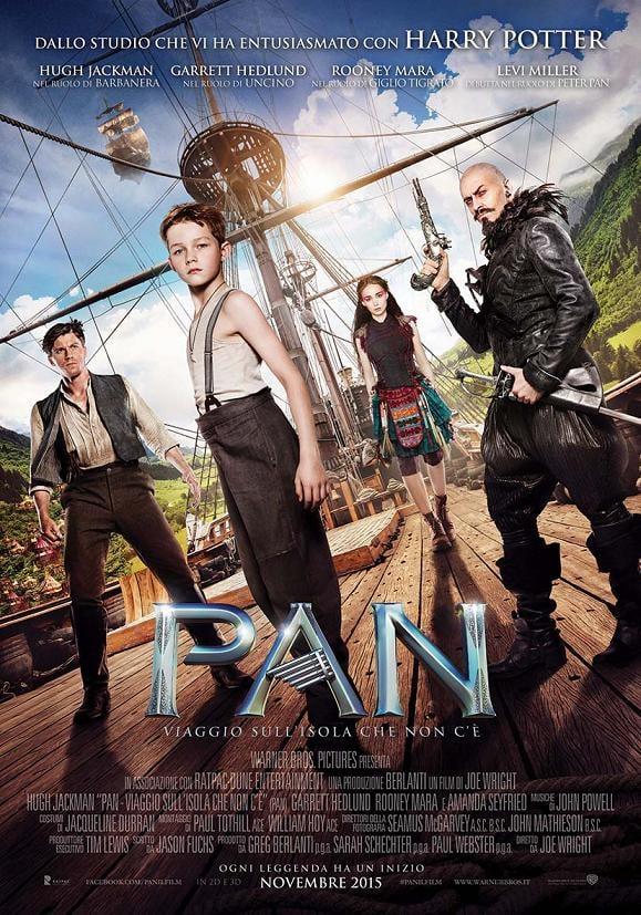 Locandina di Pan - Viaggio sull'isola che non c'è