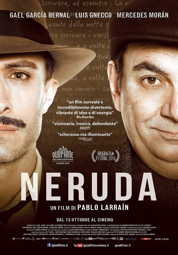 Locandina di Neruda