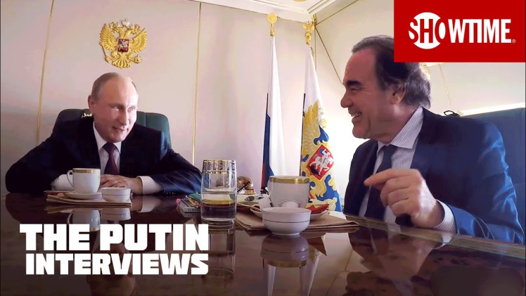 """The Putin Interviews"" (4 Puntate) (Serie Tv) (Usa 2017)(Showtime), Oliver Stone- Image 1..jpg"