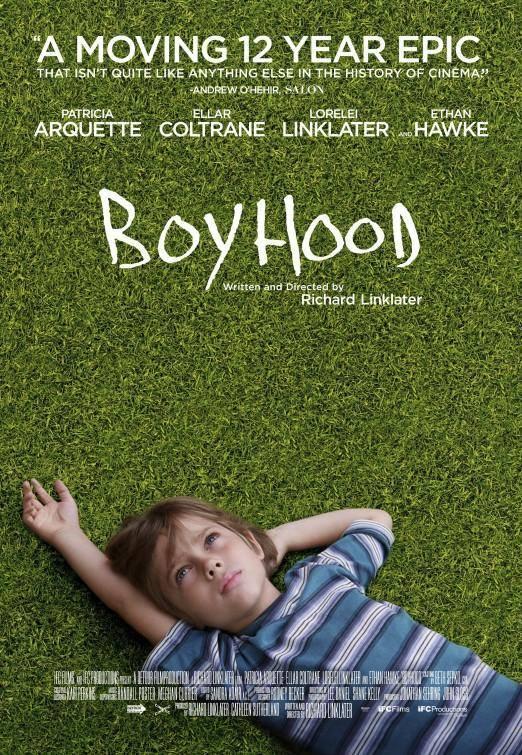 Locandina di Boyhood