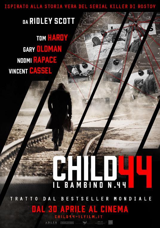 Locandina di Child 44 - Il bambino numero 44