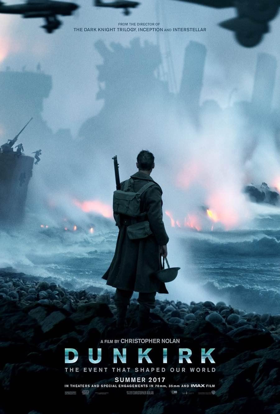 """Dunkirk""(G.B.- Usa 2017), Christopher Nolan. U.S. Sheet Posters -1."