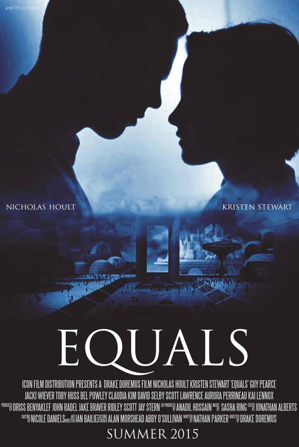 Locandina inufficiale di Equals