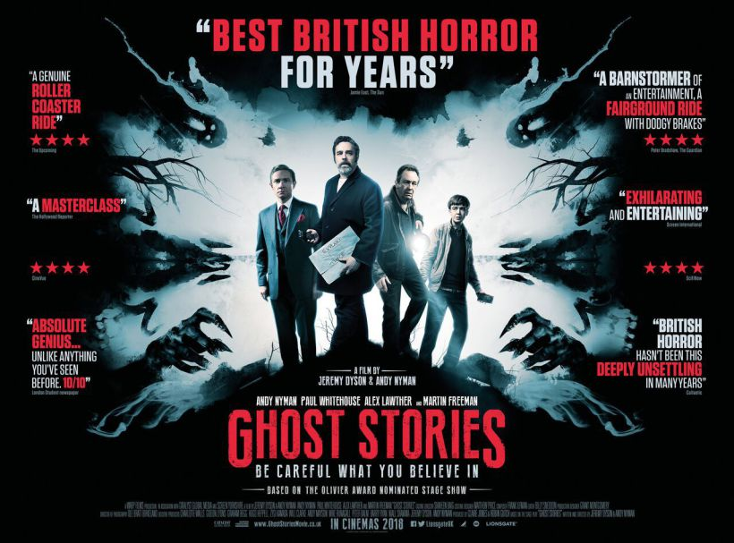 """Ghost Stories""(G.B. 2017), Andy Nyman e Jeremy Dyson. U.K. official sheet"