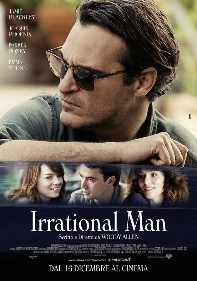 Locandina di Irrational Man Woody Allen
