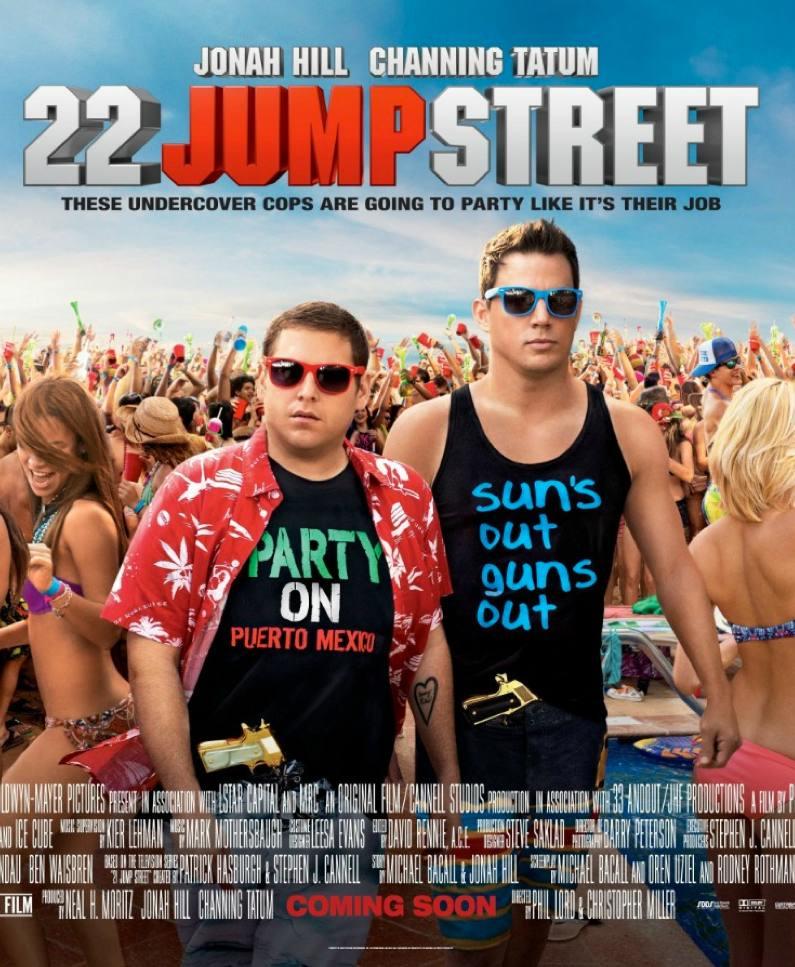 locandina americana di 22 Jump Street