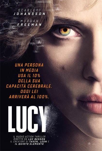 Locandina di Lucy