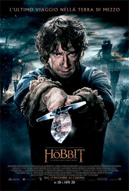 Locandina di Lo Hobbit – La battaglia delle cinque armate