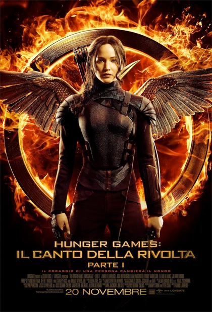 Locandina di Hunger Games: Il canto della rivolta - Parte I
