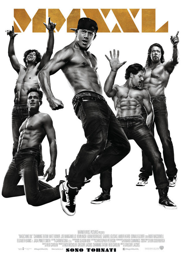 Locandina di Magic Mike XXL