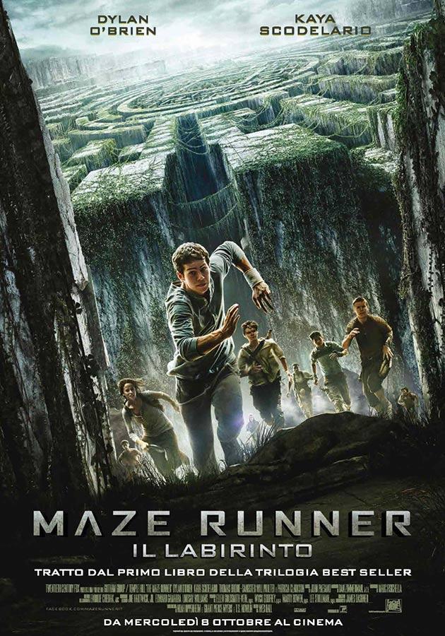 Locandina di Maze Runner - Il labirinto