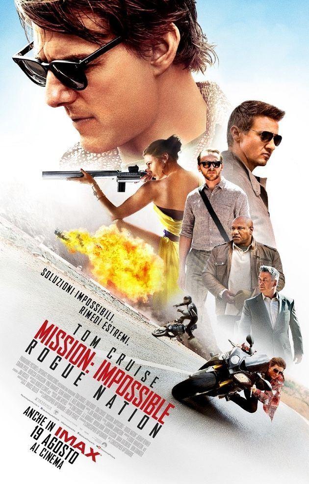 Locandina di Mission: Impossible - Rogue Nation