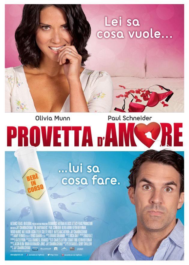 Locadina Provetta d'amore