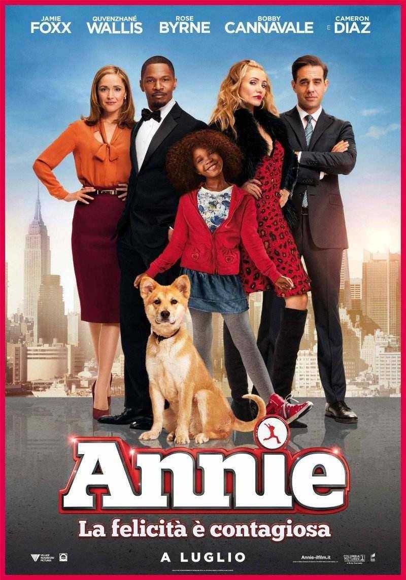 Locandina di Annie - La felicità è contagiosa