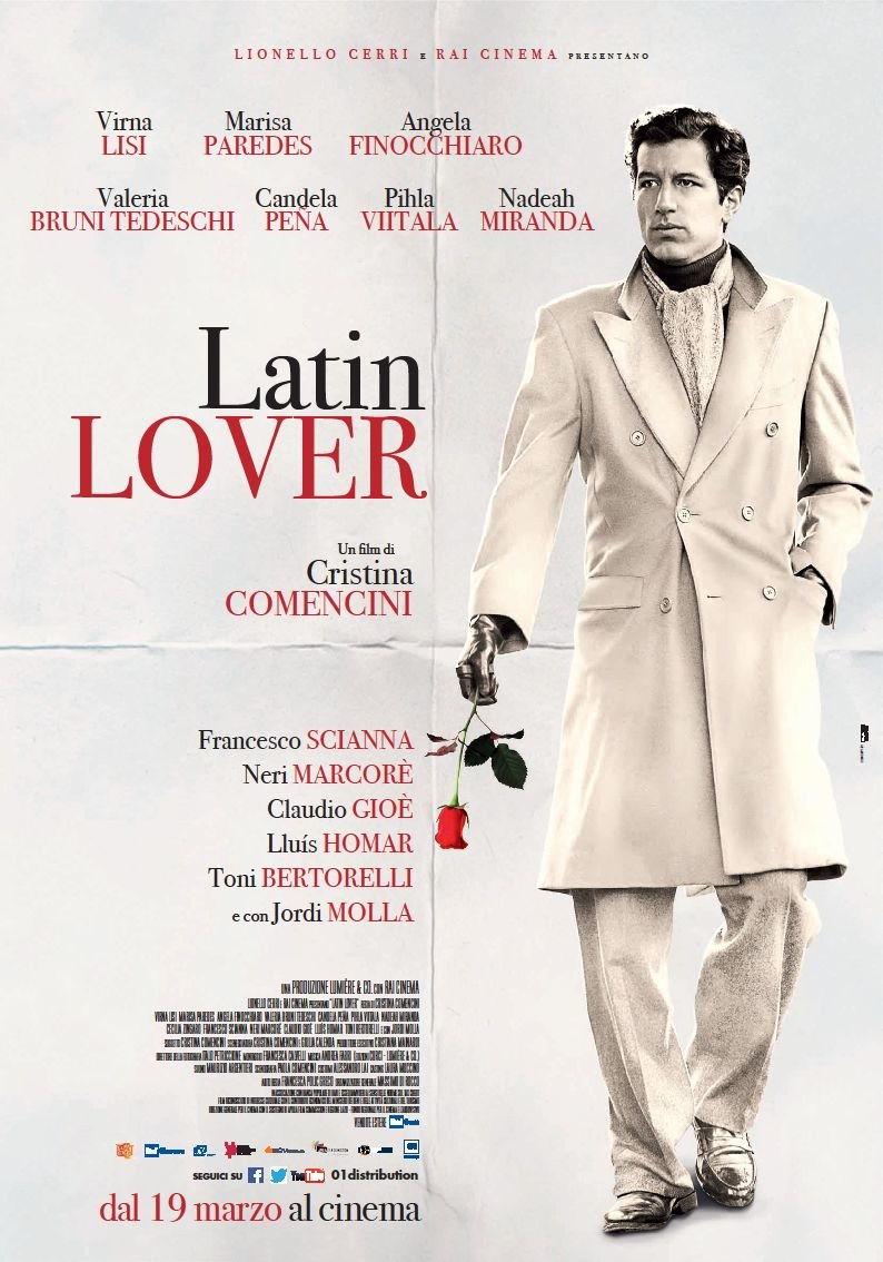 Locandina di Latin Lover