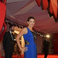 Guia Zapponi sul red carpet del Festival di Venezia 2014