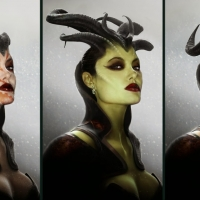 Maleficent, virtual art di Jerad S. Marantz