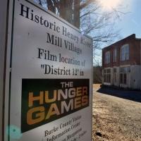 Henry River Mill Village, North Carolina, set di Hunger Games, District 12
