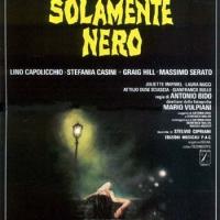 """""""Solamente nero""""(Italia 1978), Antonio Bido. Manifesto italiano"""