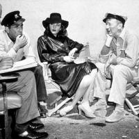 Set di Acque del Sud con Bogart, Bacall e Hawks