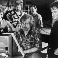 Williams con Spielberg e Julia Roberts: Hook