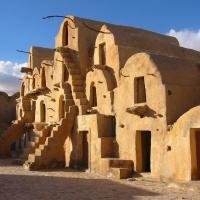 Tatooine, set di Star Wars in Tunisia
