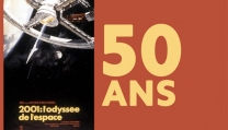 La locandina del Festival di Cannes per celebrare i 50 anni di 2001: Odissea nello spazio