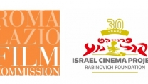 I loghi di Roma Lazio Film Commission e Israel Cinema Project