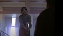Shelley Duvall nella scena sulle scale in Shining