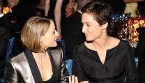 Jodie Foster con la compagna Alexandra
