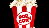 una porzione di popcorn buona per un blockbuster