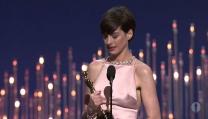 Anne Hathaway e l'Oscar