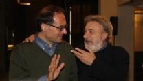 Giovanni Bogani con Gianni Amelio