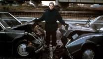 David Cronenberg sul set di Crash