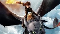 Sequenza di volo in Dragon Trainer 2 di Dean DeBlois