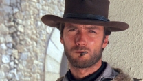 Clint Eastwood in Per un pugno di dollari