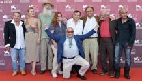 Gianfranco Rosi con il cast di Sacro Gra, tra i titoli selezionati a New York