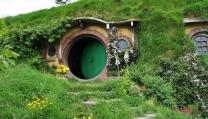 """Casa di Hobbit nella """"Terra di Mezzo"""" neozelandese"""
