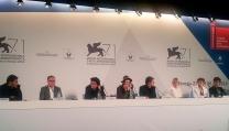 """Conferenza stampa di """"La vita oscena"""""""