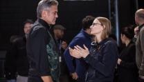 George Clooney e Jodie Foster sul set di Money Monster