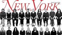 la copertina del New York Magazine
