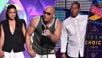 Il cast di Fast & Furious 7 ai Teen Choice Awards