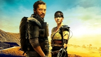 Tom Hardy e Charlize Theron in Mad Max: Fury Road