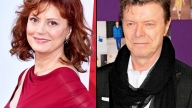 Susan Sarandon e David Bowie